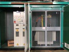 恒安源电气集团制造的ZBW-400KVA箱式变电站